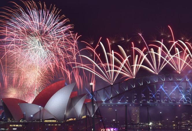 Capodanno in Oceania