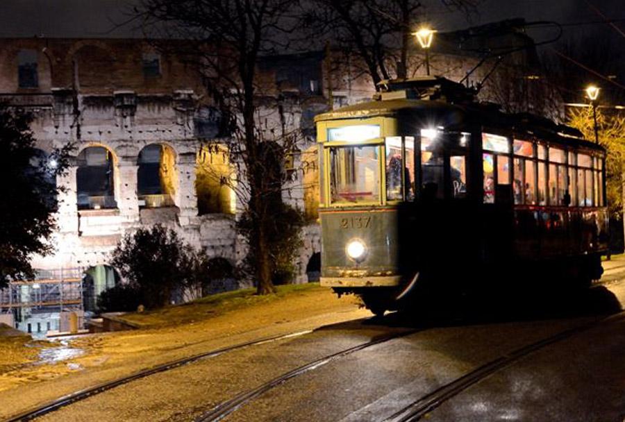 Capodanno tram Roma