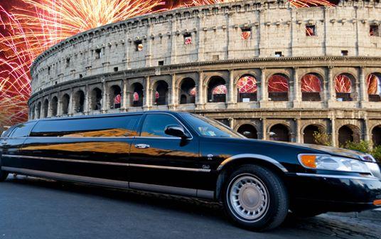 affitto limousine capodanno roma